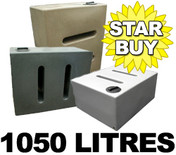 1000 Litre Water Butts