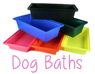 dog baths